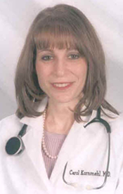 Carol Kornmehl: M.D. and Published Author